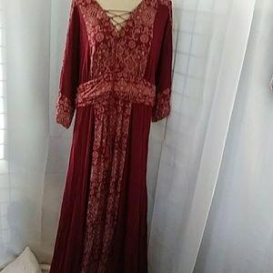 Roamans maxi dress